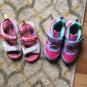 Toddler girls size 10 shoes